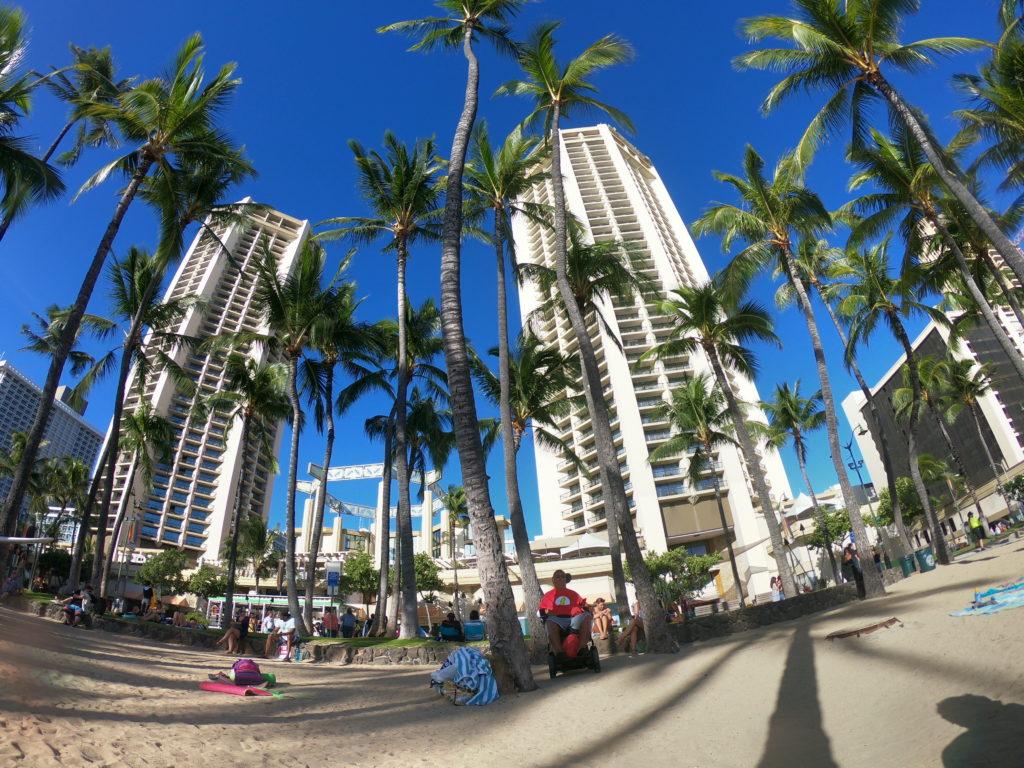 ハワイのハイアット・リージェンシー