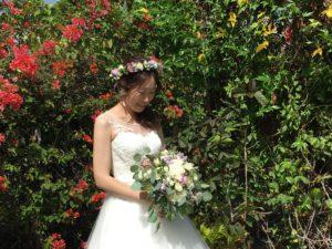ダイヤモンドヘッド・アネラ・ガーデンチャペルで結婚式