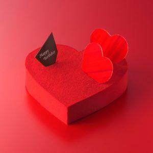 アンリ・シャルパンティエのハートのチョコケーキ