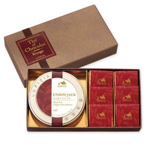 ルピシアの紅茶とチョコレートギフト