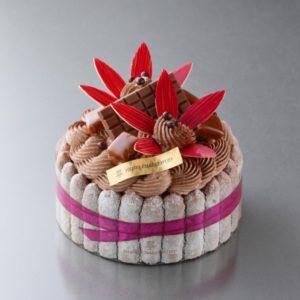 アンリ・シャルパンティエのチョコケーキ