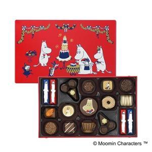 メリーチョコレートとムーミンのコラボチョコレート