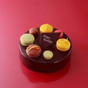 アンリ・シャルパンティエのマカロンチョコケーキ